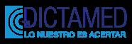 Logo DictaMed fondo transparente